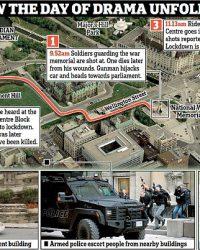 2014 – אזרח קנדי שהתאסלם יוצא למסע ירי במתחם הפרלמנט באוטווה, קנדה