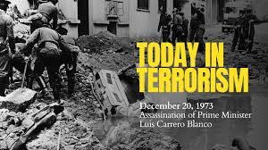 ההתנקשות בראש ממשלת ספרד לואיס קאררו בלאנקו 1973